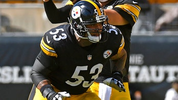 Steelers' Maurkice Pouncey wears name of fallen officer on helmet amid team drama over decal