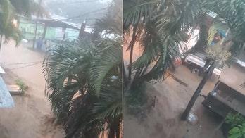 Hurricane Nana makes landfall in Belize, brings floods to Honduras; Omar to dissipate