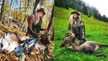 Female hunter blasts death threats from trolls, defends sport