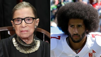 Ruth Bader Ginsburg once thought Colin Kaepernick's national anthem protest was 'really dumb,' compared it to flag burning