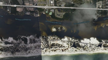 Hurricane Sally's aftermath on Florida, Alabama coasts revealed in aerial imagery