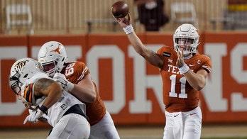 Ehlinger leads No. 14 Texas romp over UTEP 59-3