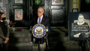 Schumer and AOC call on voters to pressure GOP senators into delaying Trump's Supreme Court nominee