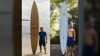 Man's surfboard, lost in Hawaii, found 5,000 miles away in Philippines