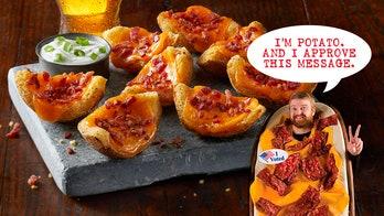 TGI Fridays announces Potato Skin's candidacy for president of United States