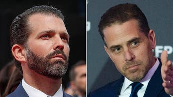 Donald Trump Jr. blasts media for ignoring Hunter Biden report: 'I was front page news for weeks' while Bidens 'get a pass'