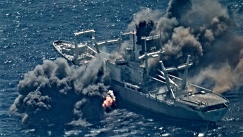 Navy sinks warship during Rim of the Pacific exercise, video shows