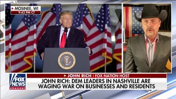 Country star John Rich slams Nashville mayor as 'de Blasio of the South' over COVID controversy