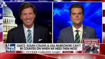 Gaetz accuses Murkowski, Collins of 'rejecting' their 'duties' by opposing SCOTUS vote before election