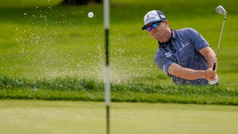 Zach Johnson nails incredible putt for birdie at US Open