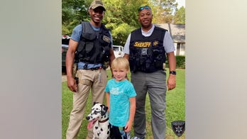 Georgia deputies reunite lost Dalmatian with family, woman charged with theft