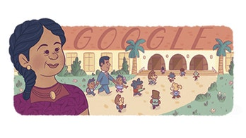 Google Doodle honors Felicitas Mendez, civil rights pioneer, for Hispanic Heritage Month