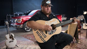 Country star Luke Combs, Ford donating $25G in guitars to vets managing PTSD