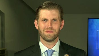 Eric Trump says his father would concede election 'if he got blown out of the water'