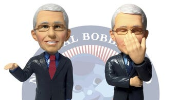 Fauci honored with new bobblehead: 'Facepalm edition'