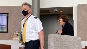 Feinstein spotted without mask at Dulles Airport despite calls for 'mandatory' policy