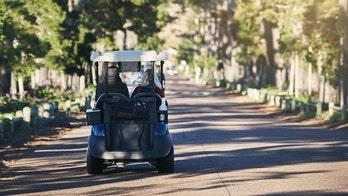 Lyft drama has women drive golf cart on highway, video shows