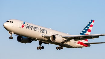 American Airlines attendant gives heartfelt goodbye on her last flight before being furloughed