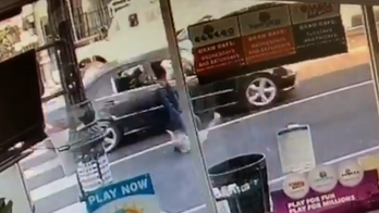 Los Angeles police release startling video in search for hit-and-run suspect