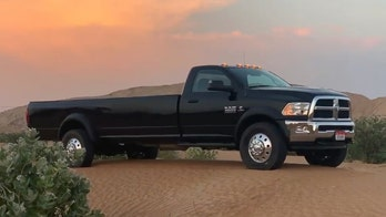 Stretched Ram pickup with 16-foot bed is a very long hauler