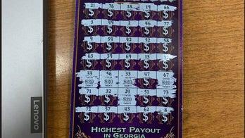 Georgia man fleeing deputies leaves behind winning lottery ticket
