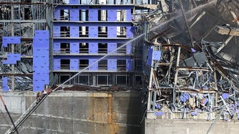 Fire erupts at New Orleans Hard Rock Hotel construction site