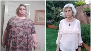 Woman drops 165 pounds without giving up favorite foods