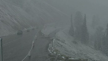 Summer snow in parts of Wyoming, Montana amid 'freezing' temperatures in region