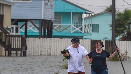 Tropical Storm Beta makes landfall on Texas coast