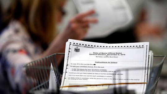 Ranked choice voting OK'd by Maine Supreme Court, rejecting Republican opposition