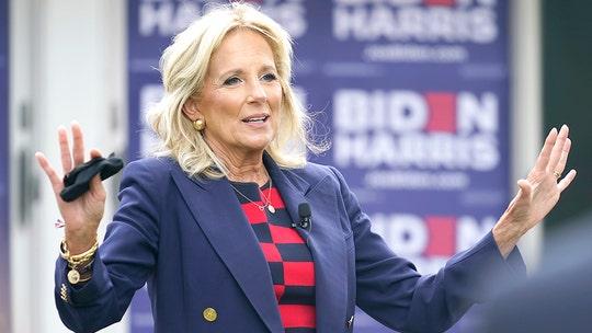 Jill Biden hits campaign trail Friday in Virginia, New Jersey