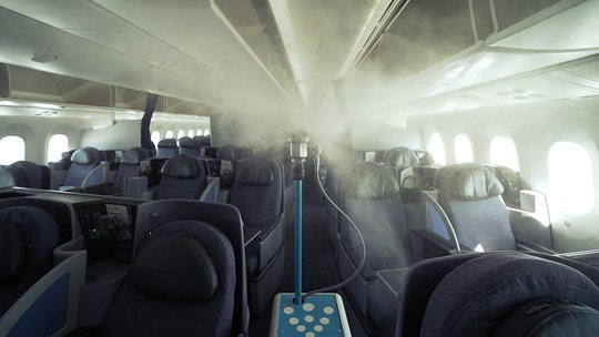 United Airlines to apply antimicrobial spray to aircraft interiors via robot
