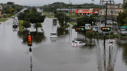 Beta floods Houston as over 500K gallons of wastewater spill, body of missing fisherman found