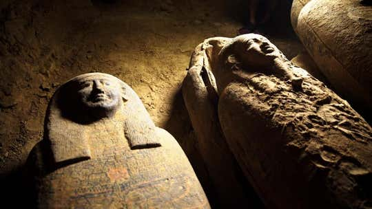 13 coffins, closed for 2,500-years, discovered in Egypt