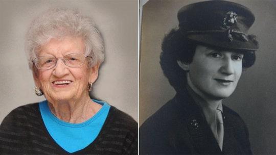 Oldest living US Marine celebrates 107th birthday in North Carolina