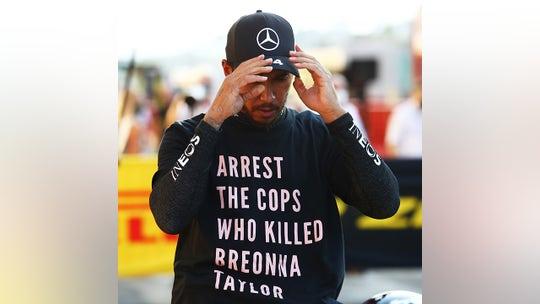 F1 champion Lewis Hamilton's Breonna Taylor T-shirt under investigation