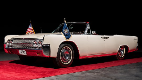 Lincoln limousine JFK rode in the day of assassination up for auction