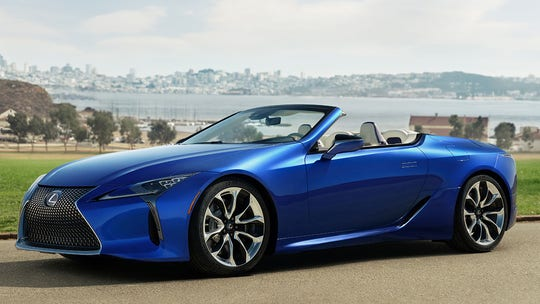 Test drive: 2021 Lexus LC500 Convertible is jaw-dropping drop-top