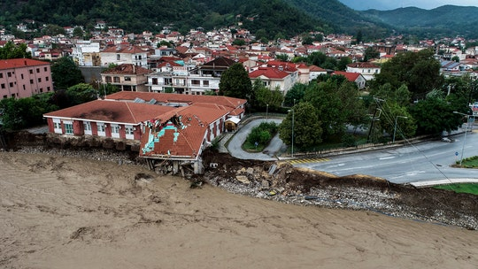Greece slammed by rare 'medicane,' leaving 3 dead, hundreds rescued from flooding