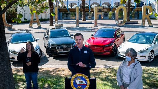 California Gov. Newsom executive order bans gas, diesel cars by 2035
