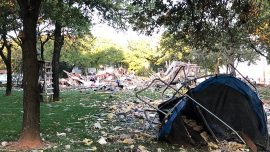 Oklahoma City home explosion leaves 1 dead, 3 injured