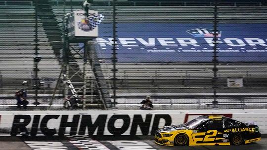 Brad Keselowski dominates in Richmond NASCAR playoff win