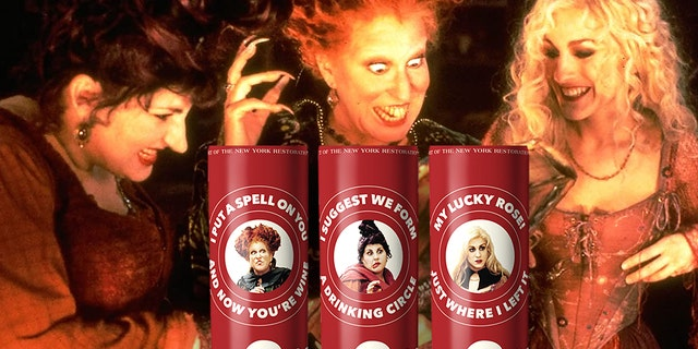 "Eliqs has brewed up ""Hocus Pocus"" canned wine for the spooky holiday season."