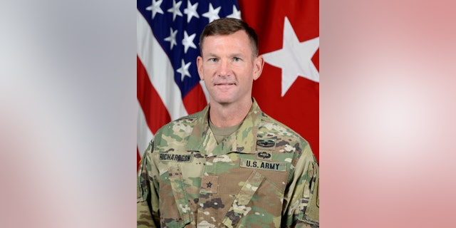 Then-Brig. Gen. John B. Richardson IV at the Pentagon in Arlington, Va., June 25, 2018. (U.S. Army photo by William Pratt)