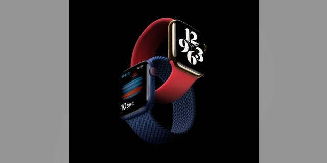 Apple Watch Series 6.