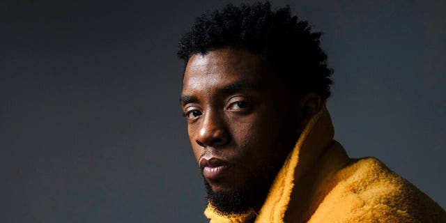Chadwick Boseman poses for a portrait in New York