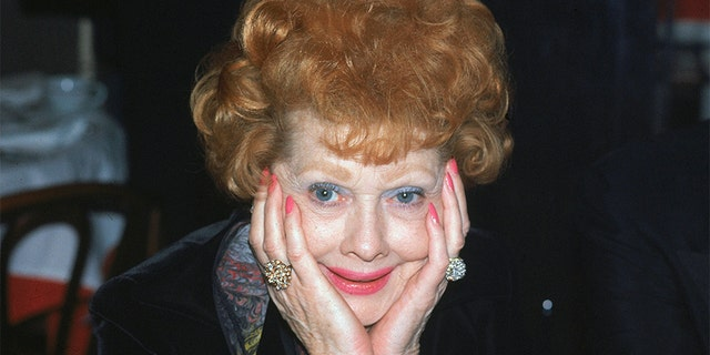 Lucille Ball in her later years.