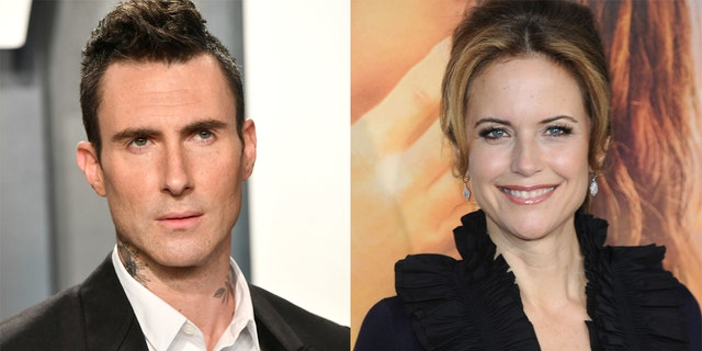 Kelly Preston (right) appeared alongside Adam Levine (left) in the music video for Maroon 5's 'She Will Be Loved.'