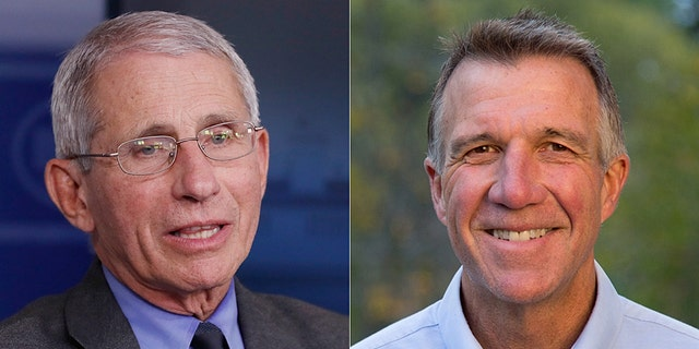 "Dr. Anthony Fauci told Vermont Governor Phil Scott on Tuesday that the state could serve as a model for the rest of the country in reaching a low test positivity to reopen the economy in a ""safe and prudent way."" (Photo courtesy of AP)"