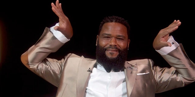 Anthony Anderson shared a message in support of Black artists at the 2020 Emmy Awards on Sunday night.